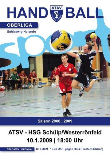 2009 ATSV - HSG Schülp/Westerrönfeld 10.1.2009