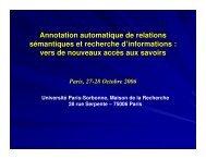 slides - LaLIC - Université Paris-Sorbonne