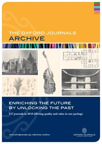 archive - Oxford Journals
