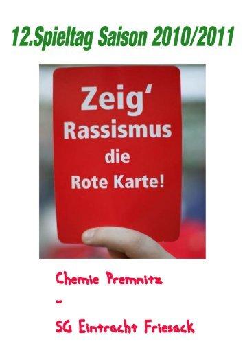 Der Spieltag in Zahlen - Premnitz-archiv.de