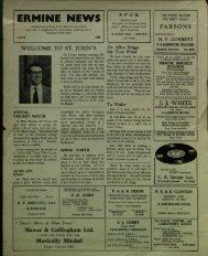 Ermine News June 1960 - St. John the Baptist Parish Church ...