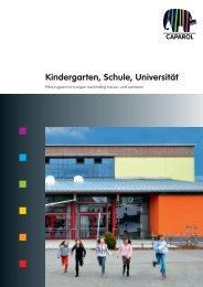 Kindergarten, Schule, Universität  - Deutsche Amphibolin Werke ...
