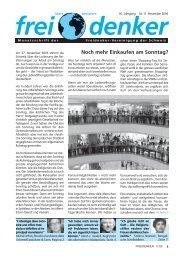 11 - Freidenker-Vereinigung der Schweiz