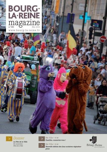 Bourg-la-Reine magazine - Mai 2013 (pdf - 8,07 Mo)