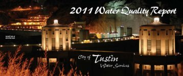 Drinking Water Quality - City of Tustin