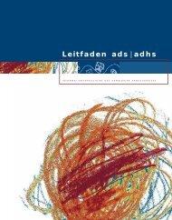 Leitfaden ads | adhs - InteressenVerband Tic und Tourette Syndrom ...