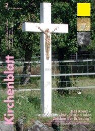 Das Kreuz – Provokation oder Zeichen der Erlösung? - Kirchenblatt