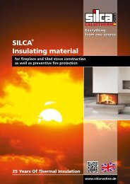 SILCA® Insulating material