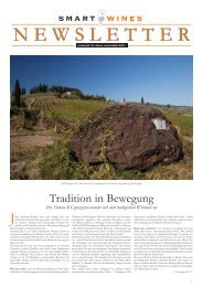Tradition in Bewegung - Smart Wines