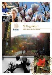 SOL-guiden - Språk - Lunds universitet