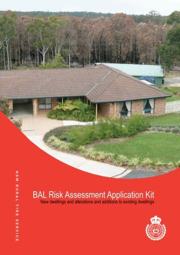 BAL Risk Assessment Application Kit - NSW Rural Fire Service