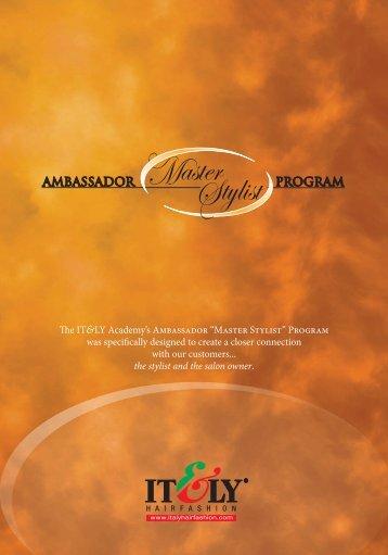AMBASSADOR PROGRAM - IT&LY; Hairfashion