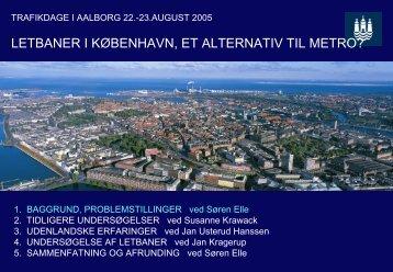 Præsentation baggrund - Trafikdage.dk