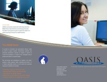 OASIS brochure - Olentangy Local Schools