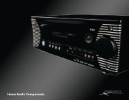 Home Audio Components - Proficient Audio Systems