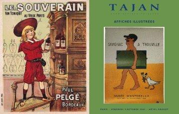 Affiches Illustrées - Tajan