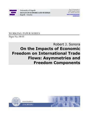 On the Impacts of Economic Freedom on International Trade Flows ...