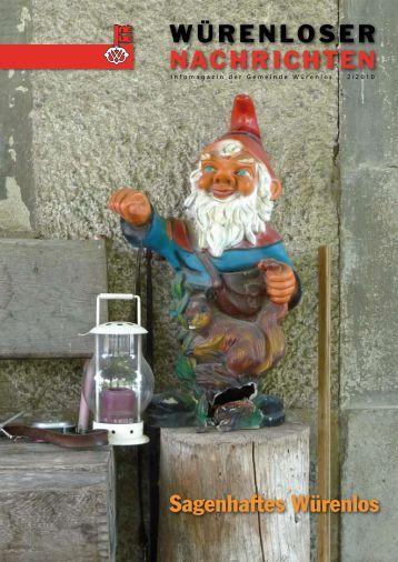 Würenloser Nachrichten 2/2010 - Gemeinde Würenlos