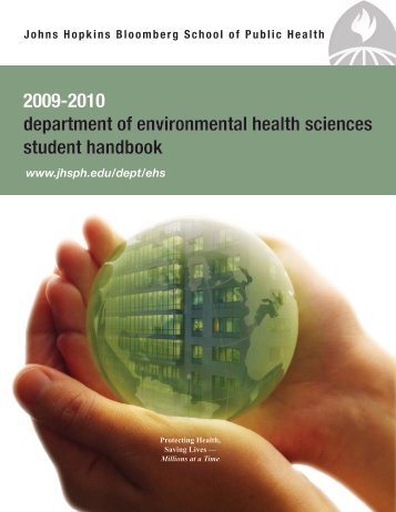 2009-2010 - Johns Hopkins Bloomberg School of Public Health