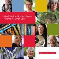 2009 Awardees, 869KB - McKnight Foundation