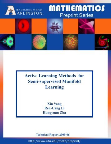 Active Learning Methods for Semi-supervised Manifold Learning