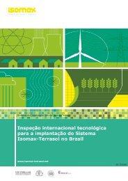 Inspeção internacional tecnológica para a ... - Isomax - Terrasol