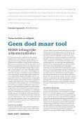 Geen doel maar tool - Zorgmarkt - Page 2