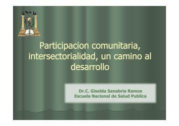 Participacion Participacion comunitaria comunitaria ...