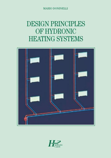 Design principles of hydronic heating systems - Caleffi