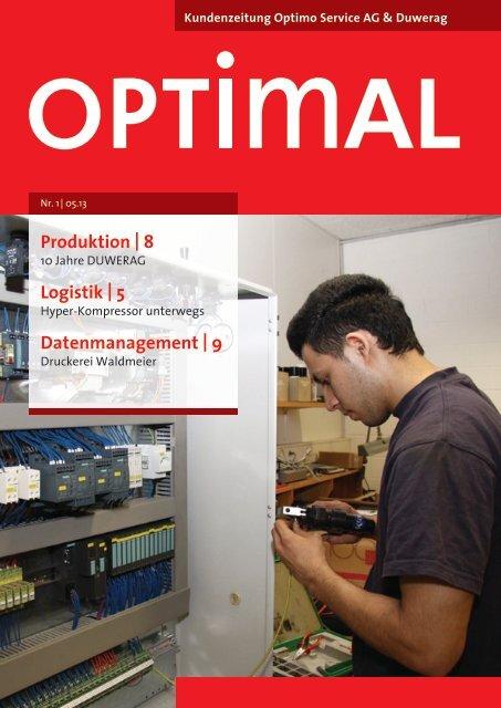 Ausgabe Nr. 1/13 - Optimo Service AG