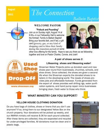 The Connection - Ballwin Baptist Church