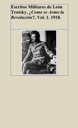 Escritos Militares de León Trotsky, ¿Cómo se armó la Revolución ...
