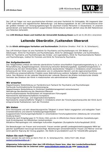 Lebenslauf Dr. S. Cohen - LVR-Klinikum Düsseldorf
