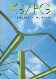 TG/FG Systemüberdachungen - Orion Bausysteme GmbH