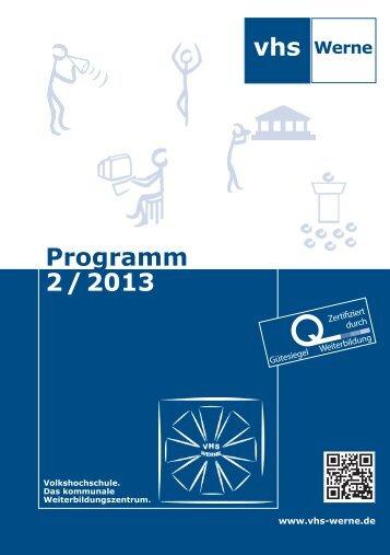 Programmheften - Stadt Werne