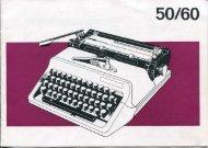 Erika daro 50/60 - typewriters.ch
