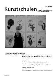 Kunstschulenverbinden. II/2003 - KUNST & GUT >> Startseite