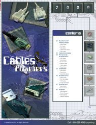 Cables and Adapters - Tomauri Inc