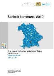 Statistik kommunal 2010 - Stadt Wolfratshausen