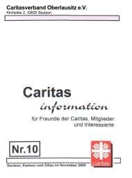 Caritasverband Oberlausitz e.V. - Caritas Oberlausitz