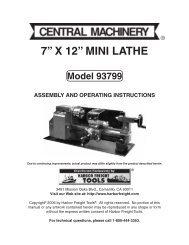 7a-x-12a-mini-lathe-harbor-freight-tools Harbor Freight Mini Mill Wiring Diagram on