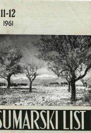 ÅUMARSKI LIST 11-12/1961