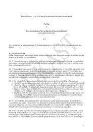 Læs forslag til Lov om ændring af lov om lige løn til mænd og kvinder