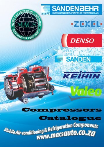 Compressor Catalogue - MACS