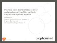 Practical ways to maximize accuracy and precision of ... - PerkinElmer