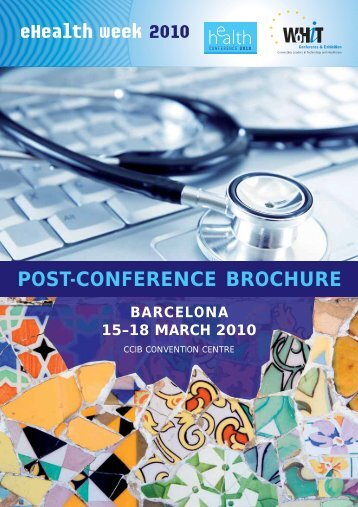 POST-CONFERENCE BROCHURE - eHealth Week