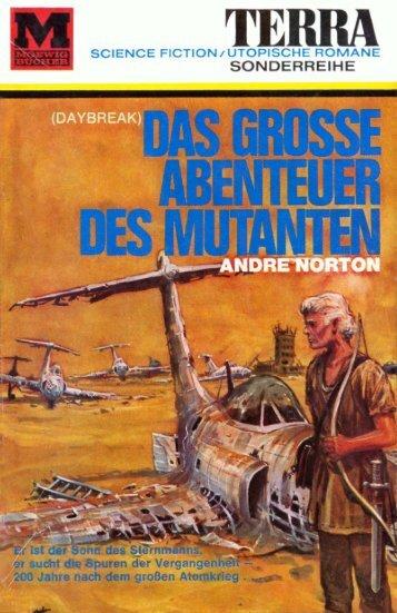 TTB 105 - Norton, Andre - Das große Abenteuer des Mutanten