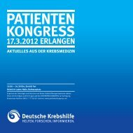 Programme - Onkologisches Forum