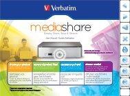 Media Share - Verbatim