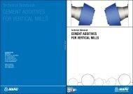 DAM Technical Notebook - Mapei